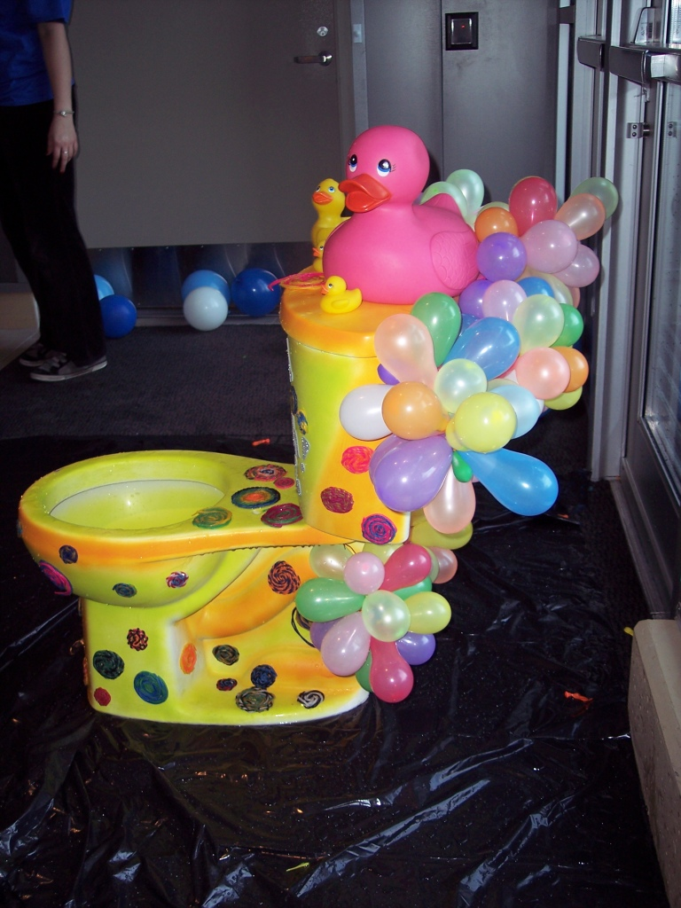 splash toilet