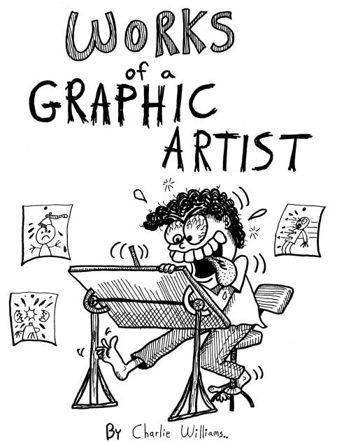 works of a graphic artist